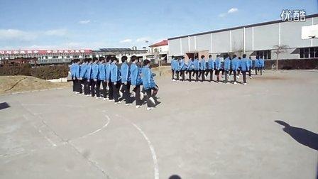 2014中视影校开学军训视频