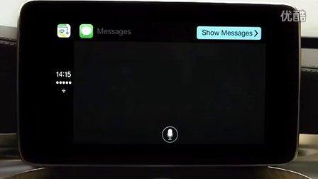 七分钟视频慢慢欣赏:奔驰CarPlay车载系统演示