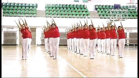 佳木斯快乐舞步广场舞第五套示范