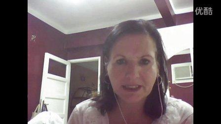 睿思博英语口语课程美国外教老师Sandy,www.rebootenglish.com
