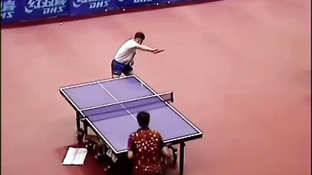 国家乒乓球训练基地-马琳直板横打训练