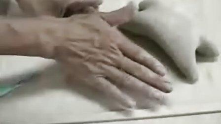 陶艺教学手捏绵羊製作2