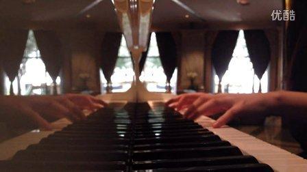钢琴弹奏 《虹之间》 爱情公_tan8.com