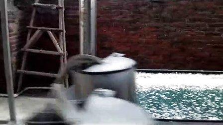 2014-3-4安装湛江PET高温清洗线