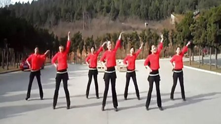叶子广场舞又见山里红含背面分解广场舞教学
