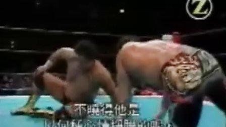 1999.12.10  新日本摔角 武藤敬司 vs 天龍源一郎(IWGP)