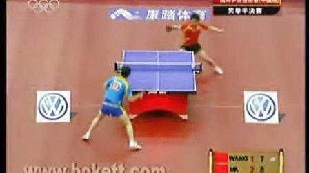 【精】2008年马龙王皓中国公开赛精彩集锦