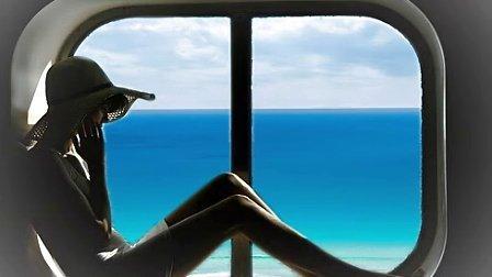 窗外的美丽大海