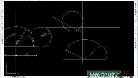十天学会CAD侯老师第四天:多段线、正多边形、矩形、机械图中