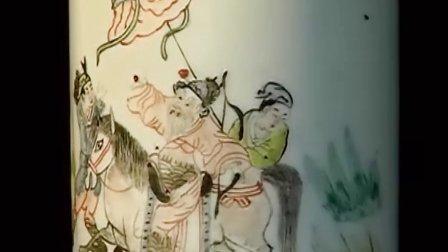 中国古玩 彩瓷笔筒 02