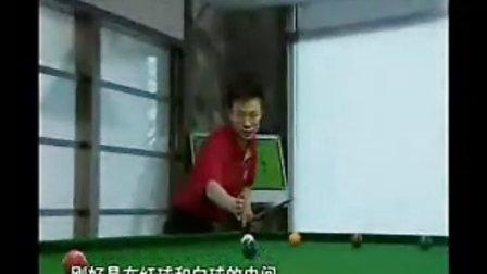 庞卫国台球教程--怎样打弧线球