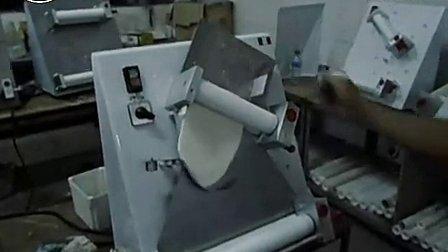 欧罗巴 DR-2A 比萨压面机 披萨成形机 Pizza成型机 工作视频_