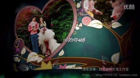 婚礼开场MV 婚纱照预告片 结婚迎宾视频 爱情树.请柬 加长版