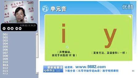 越南语学习教程,越南语学习视频,学习越南语--2-单元音和声调