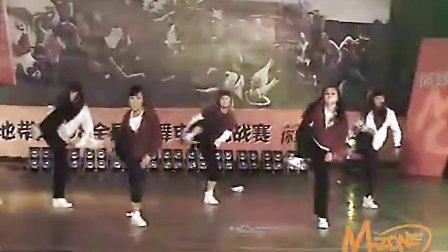 动感街舞辽宁赛区校园集体Dancer延边大学SP舞堂ing队