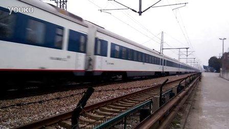 【2014.3】【京沪线沪宁段】南京东站到达场拍车——T71次(SS9G)