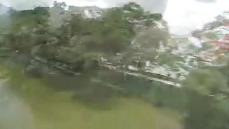 肇庆七星岩景区航拍