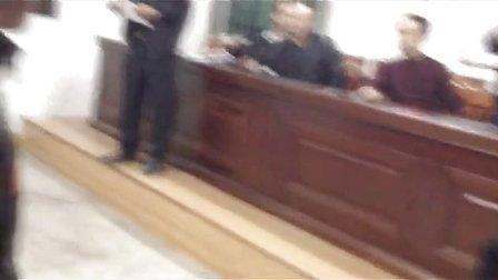 广东揭阳市蓝城区磐东镇河中村村民会议暴力现场