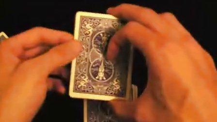 刘谦缘分测试术魔术教学 缘分五张牌 命中注定的缘份