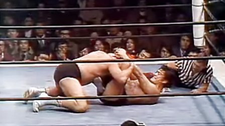 1975-12-11 アントニオ猪木 vs ビル・ロビンソン (NWF世界重量級選手權)