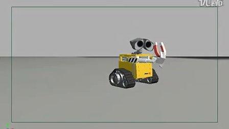WALL E和磁铁(动画临摹练习)