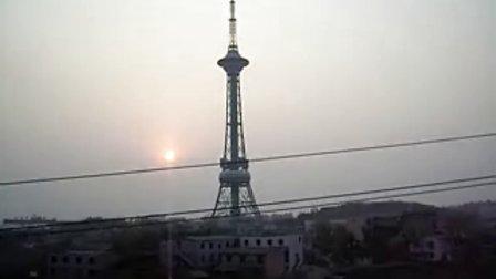 炎帝广场的晨曦