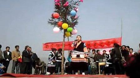 2014年织金县官寨乡屯上苗族花坡节8正月初六