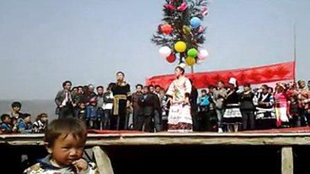 2014年织金县官寨乡屯上苗族花坡节7正月初六