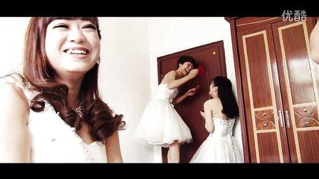 【HLVision】13.10.04婚礼双机花絮