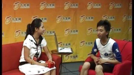 杨紫做客千龙网 03