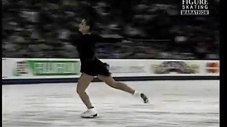1996年花样滑冰世锦赛陈露自由滑