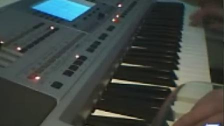 电子琴<每当我走过老师的窗前>