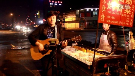 吉他弹唱 在他乡 突然想到理想这个词(郝浩涵和王炳星)