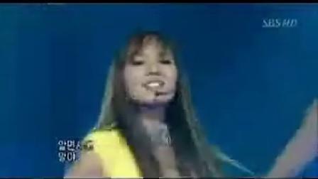 韩国美女柳真劲歌热舞《CHACHA》