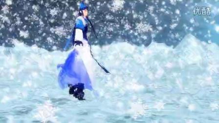 温皇雪中独舞