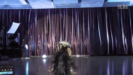 爆发力女王杜湘湘原创鼓舞《野》,展示狂野中的肚皮舞魅力