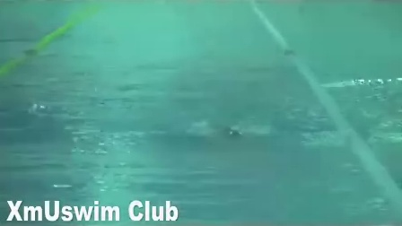 厦门游泳俱乐部爱好者蛙泳示范(seven)