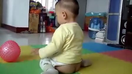 一岁的儿子会懂得很多的东西了