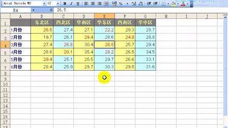 Excel实战技巧视频教程——基础篇第2集
