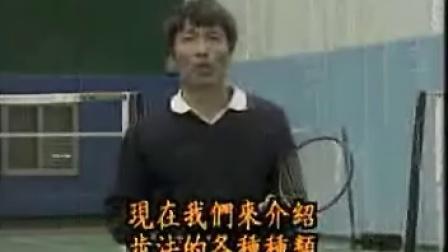 羽毛球教学 步法的种类