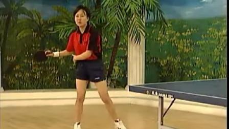 《乒乓球直拍》17 直拍正手中远台进攻