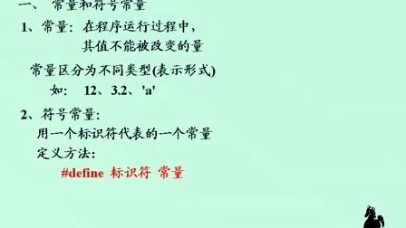 谭浩强C语言视频教程01课