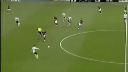 冠军杯AC米兰vs曼联上半场