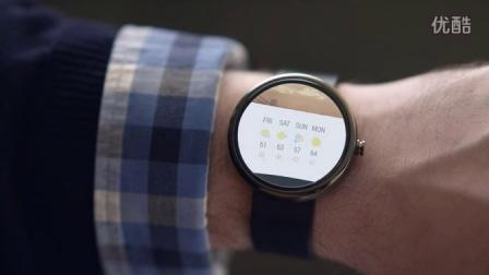 安卓手表操作系统预览-简洁时尚