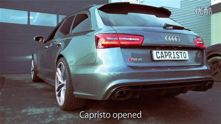 Soundfile Audi RS6 Biturbo C7 and RS7 Sportback with Caprist