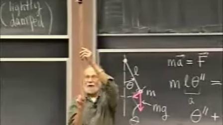 [微分方程:非-线性自治系统:.求关键点和轨迹;非-线性摆].Lecture.31