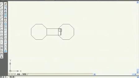 26.AutoCAD2010视频教程 旋转、镜像、拉伸的方法2