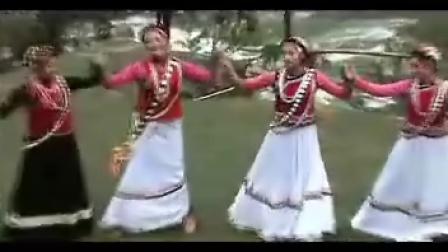 怒江大峡谷之傈僳族的传统舞蹈