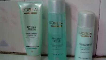 歐萊雅清潤系列護膚產品