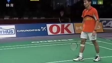 2007年丹麦羽毛球公开赛半决赛鲍春来VS李崇伟